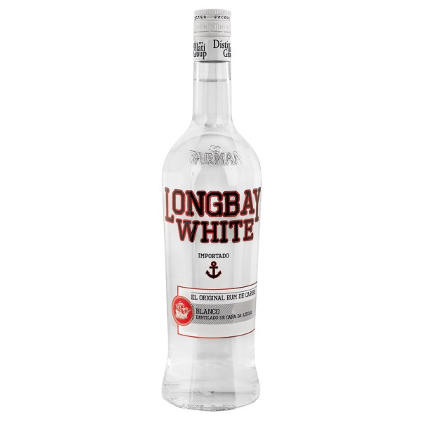 Long Bay White Rum, 38% Vol. 1,0 ltr.