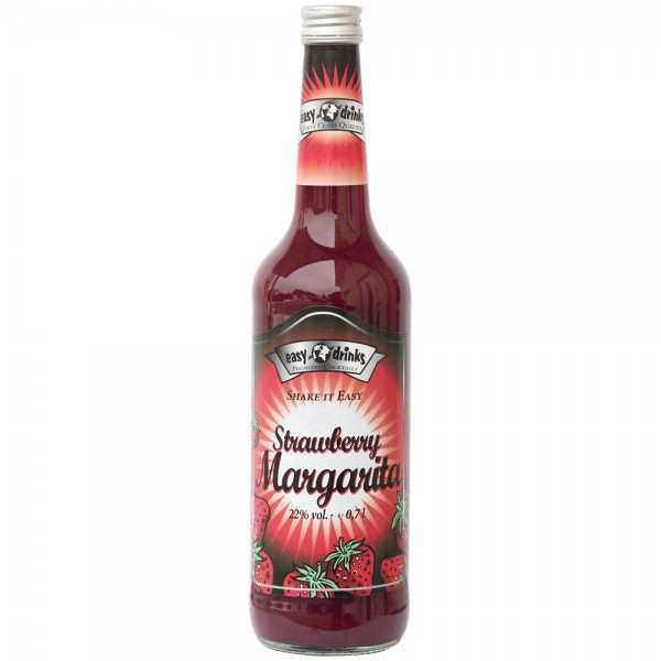 Strawberry Margarita, 22% Vol. 0,7 ltr.