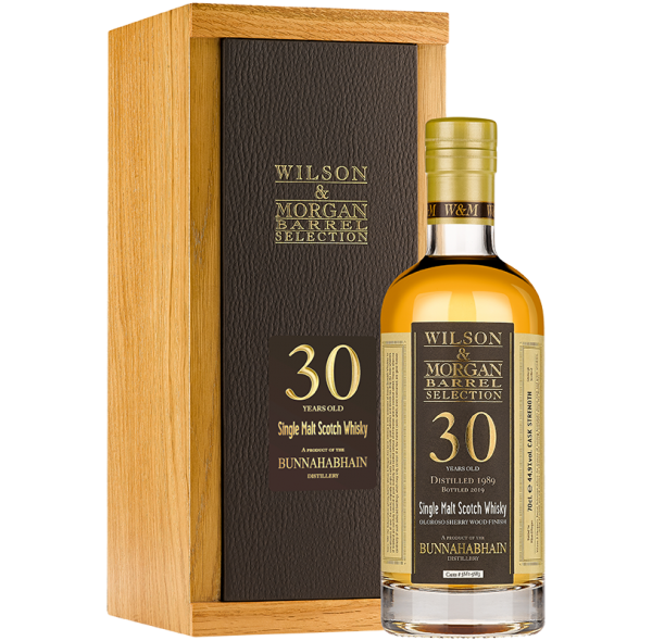 W&M Bunnahabhain 30 Jahre (1989-19) Sherry Finish 47,6% 0,7 ltr. Single Malt Whisky