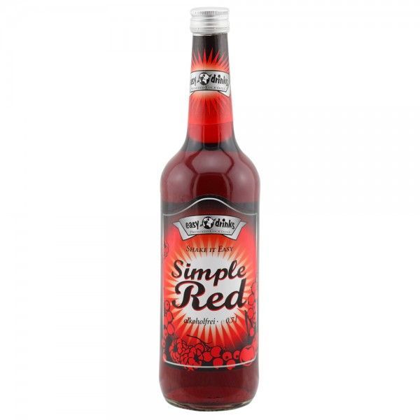 Simple Red Alkoholfrei 0,7 ltr.