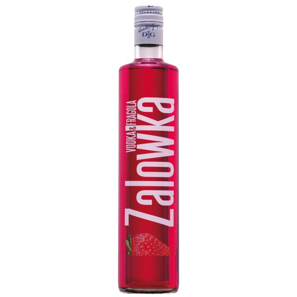 ZALOWKA Vodka & Erdbeere, 21% Vol. 0,7 ltr.