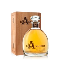 Grappa L´Assedio Barrique limitiert 450 Fl. 45% Vol. 0,7 ltr.