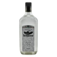 Tequila Sombrero Silver 100% Agave, 38% Vol. 0,7 ltr.