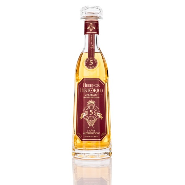 Herencia Historico ANEJO 5 Jahre, 100% Agave Tequila, 38% Vol. 0,75 ltr.