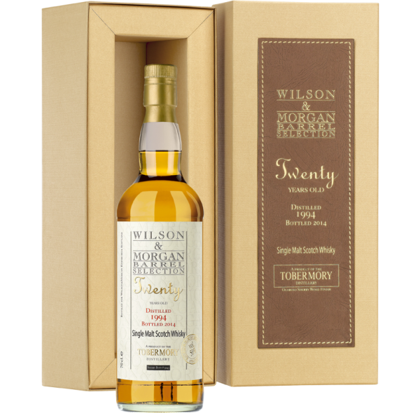 Tobermory 20 Jahre (1994-2014) Sherry Wood Oloroso, 50% 0,7 ltr.