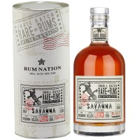 Rum Nation Rare Rum Savanna 13 Jahre (2007-2020) Grand Arome, 62,6% 0,7 ltr.