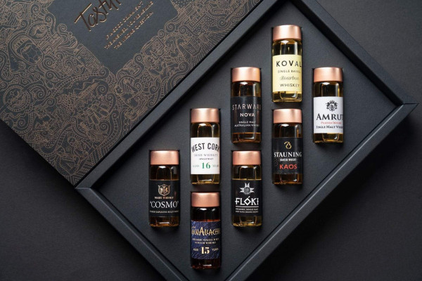 World of Whisky Collection Probierset Tastillery, 8 x 30 ml.
