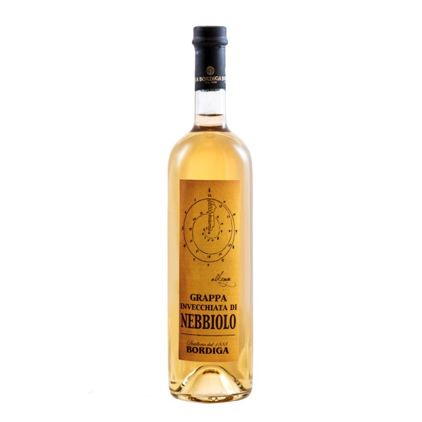 Grappa di Nebbiolo Fassreife, 40% Vol. 0,7 ltr.