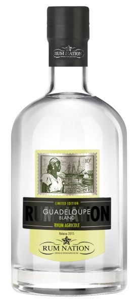 Rum Nation Guadeloupe Blanc, 50% Vol. 0,7 ltr.