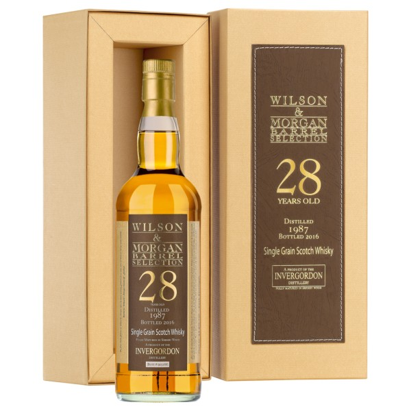 W&M Invergordon Single Grain Whisky 28 Jahre (1987-2016) 53,8% 0,7 ltr.