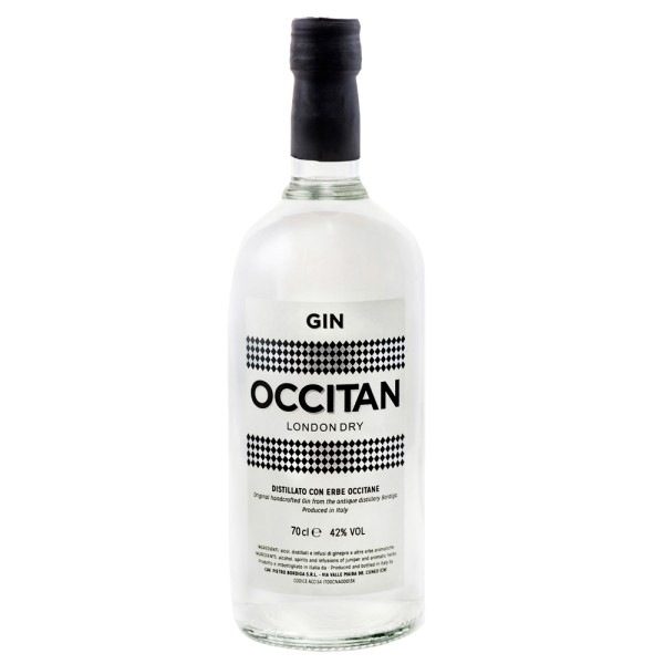 Bordiga London Dry Gin Occitan, 42% Vol. 0,7 ltr.