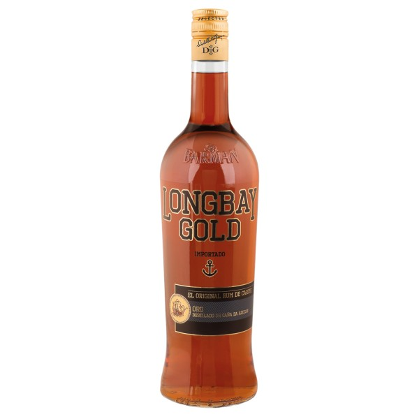 Long Bay Gold Rum, 38% Vol. 1,0 ltr.