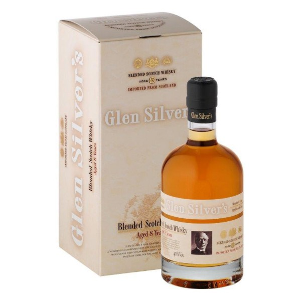 Glen Silvers 8 Jahre, blend. Malt Scotch Whisky, 40% Vol. 0,7 ltr.