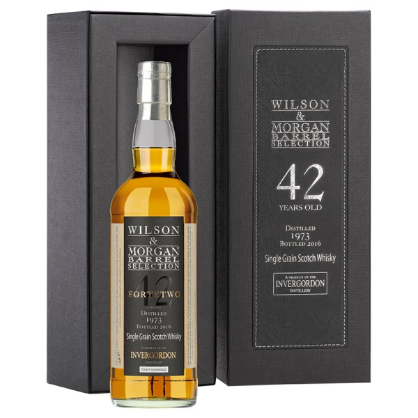 W&M Invergordon Single Grain Whisky 42 Jahre (1973-2016) 52,6% 0,7 ltr.