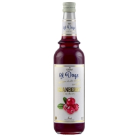 Il Doge Sirup Cranberry 0,7 ltr.
