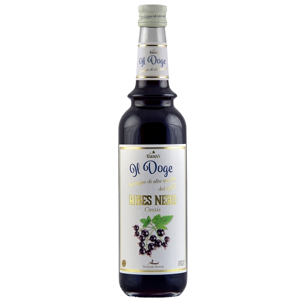 Il Doge Sirup Cassis 0,7 ltr.