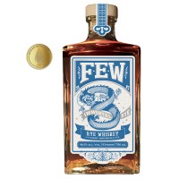 FEW Immortal Rye Bourbon Whiskey, 46,5% Vol. 0,7 ltr.