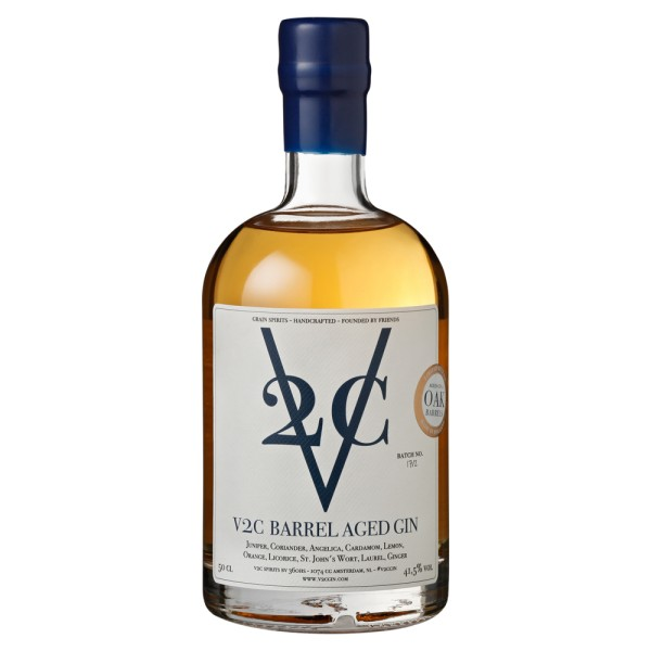 V2C Barrel Aged Gin, 41,5% Vol. 0,5 ltr.