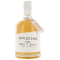 untitled Rum aged 5 years, 40% Vol. 0,5 ltr.