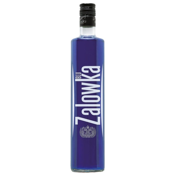 ZALOWKA Blue Vodka & Fruit 21% Vol. 0,7 ltr. Wodka mit Heidelbeer Geschmack