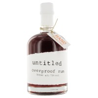 untitled overproof Rum, 73% Vol. 0,5 ltr.