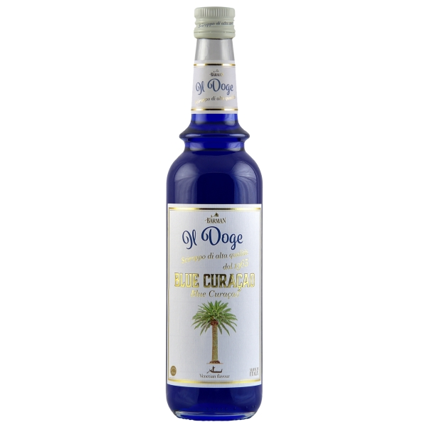 Il Doge Sirup Blue Curacao 0,7 ltr.