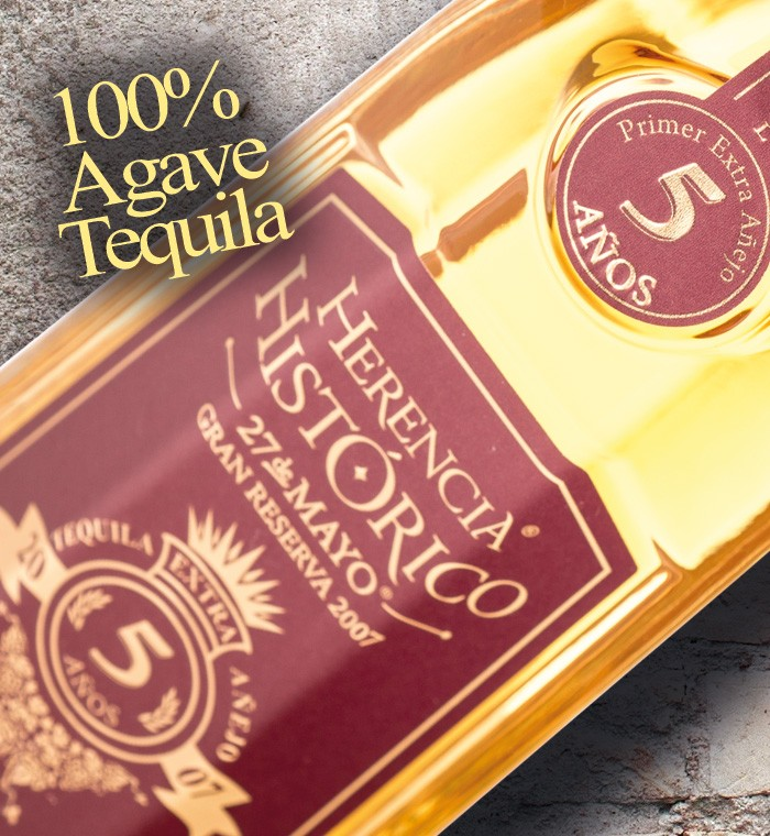100% Agave Tequila