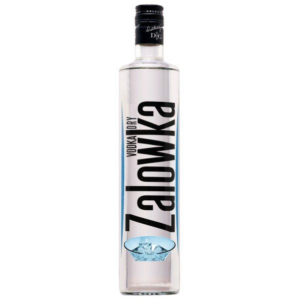 ZALOWKA Vodka Dry, 38% Vol. 0,7 ltr.