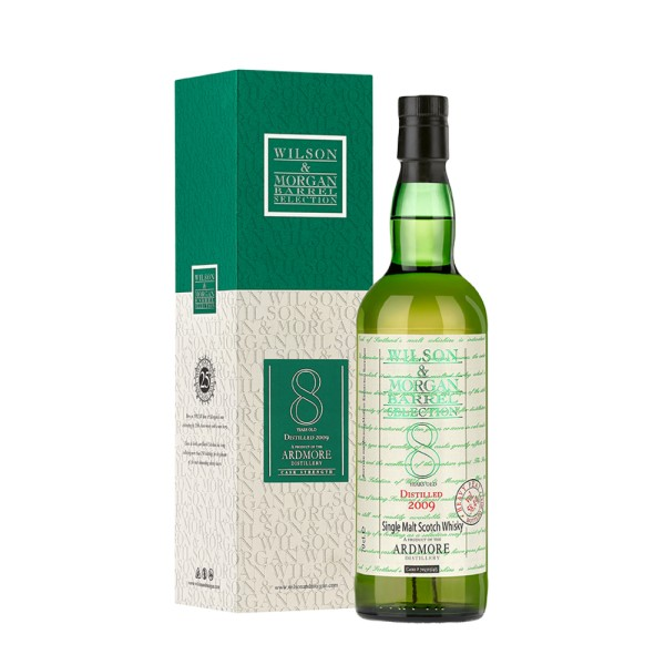 Ardmore Whisky 8 Jahre (2009-18) / Heavy Peat Cask Strength / 58,4% 0,7 ltr.