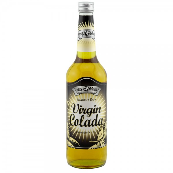 VIRGIN COLADA / Fertigcocktail / Pina Colada Alkoholfrei 0,7 ltr. / easy drinks